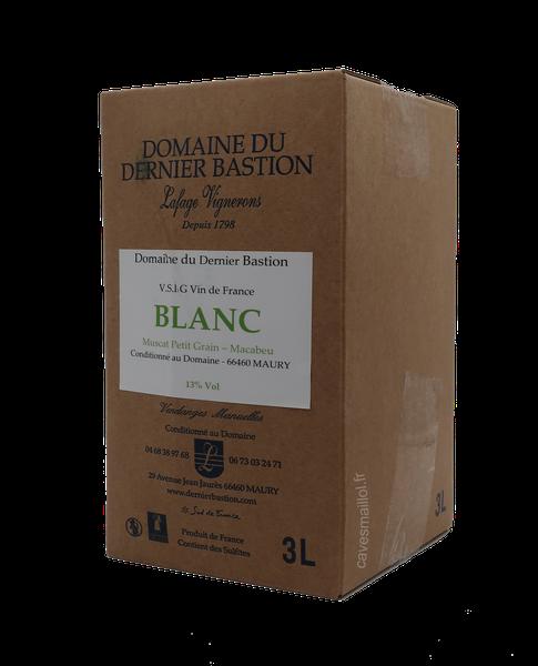 BIB 3 L - Dernier Bastion - Blanc