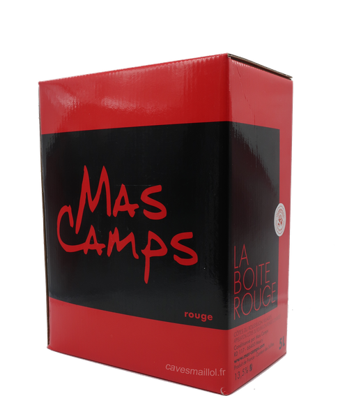 BIB 5 L - Mas Camps - Rouge