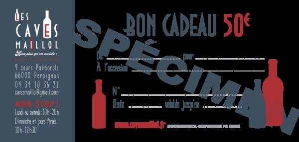 Bon Cadeau - 50€